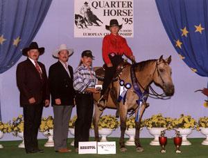 Patricia Schürmann mit Checkmate Gold, Europameisterschaft (1995)