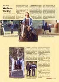 Reiter Revue, Ausgabe 11.2005, Bericht über den Reitstall Haus Boulig