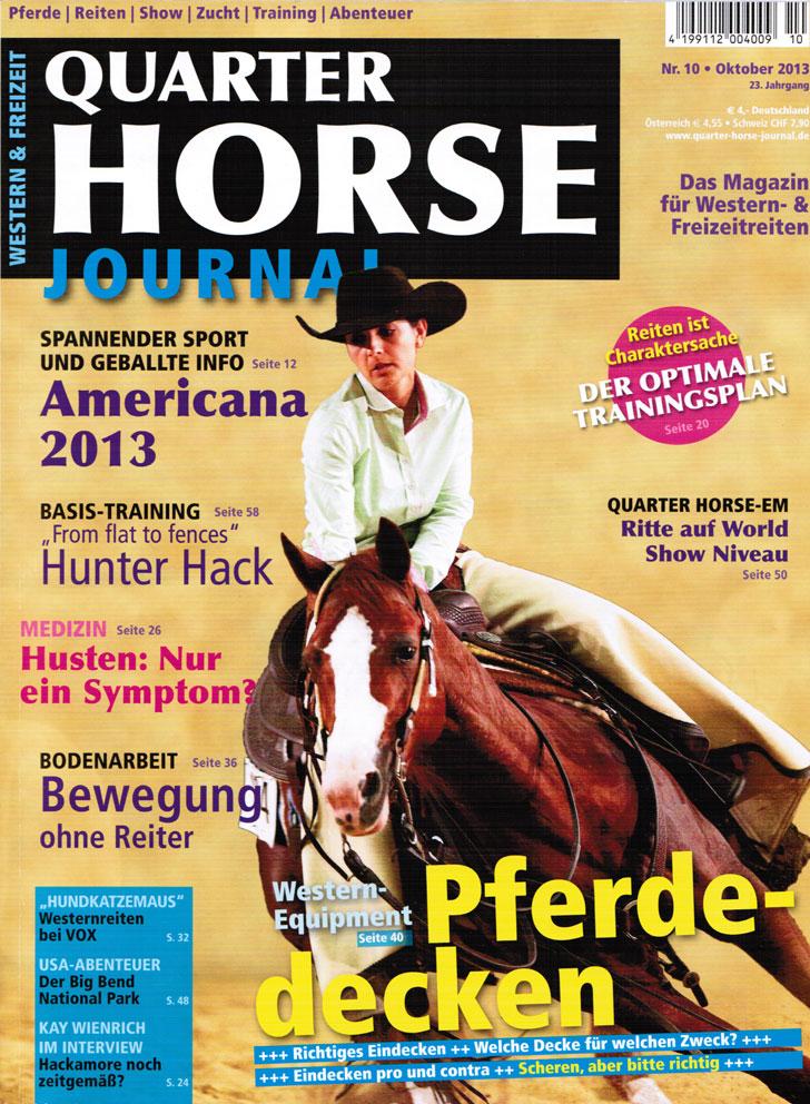 Quarter Horse Journal Nr.10 aus 2013